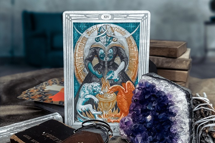 Art from the Crowley Thoth Tarot