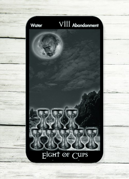 eight of cups tarot meaning