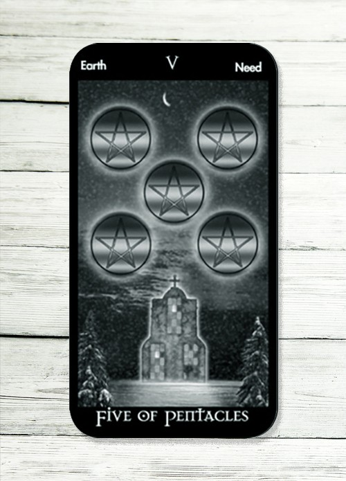 five of pentacles tarot meaning