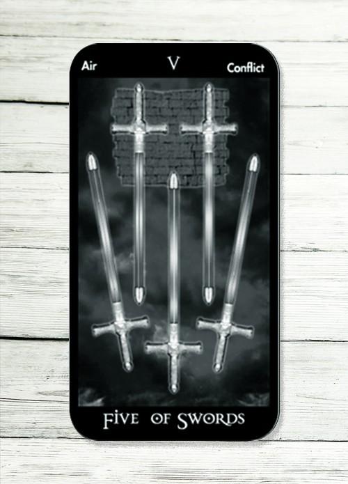 five of swords tarot meanings