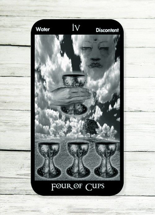 four of cups tarot meanings
