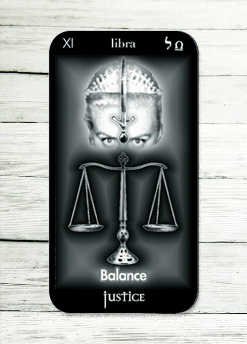 justice tarot meaning