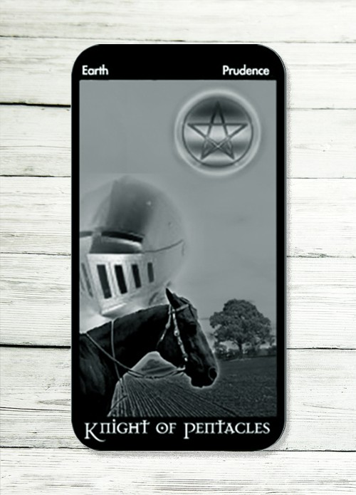 knight of pentacles tarot meaning