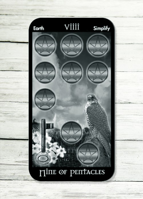 nine of pentacles tarot meaning