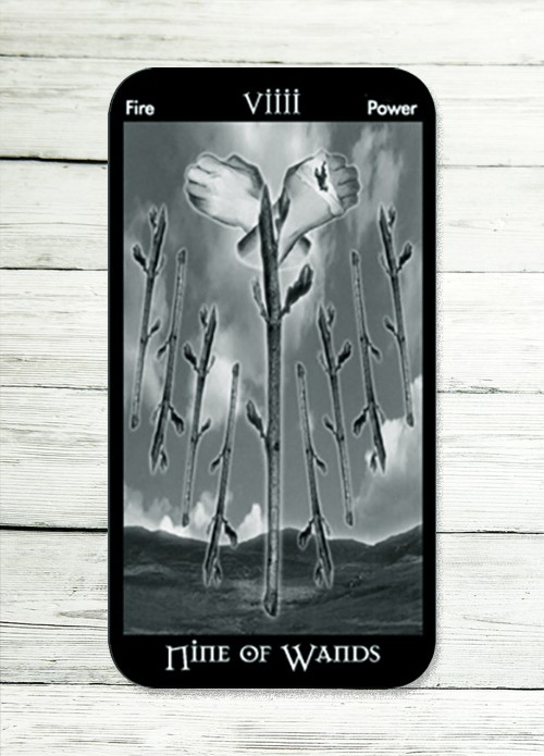 nine of wands tarot meaning