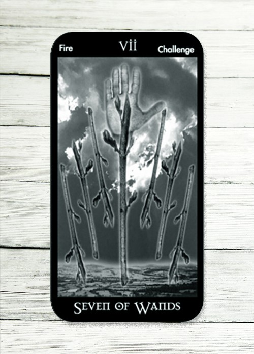 seven of wands tarot meaning