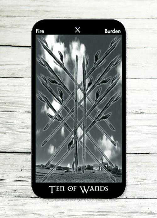 ten of wands tarot meaning