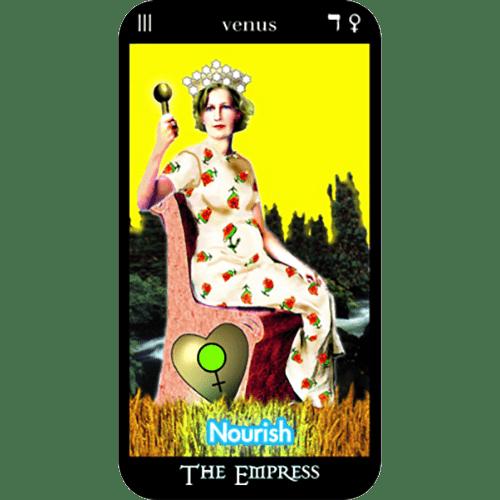 O'Mara Tarot | Major Arcana Card | The Empress