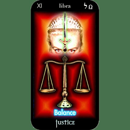 Justice | Major Arcana Card | Tarot Card Experts