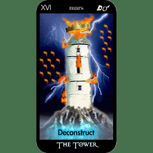 The Tower | O'Mara Tarot Cartomancer | Tarot Card Readings