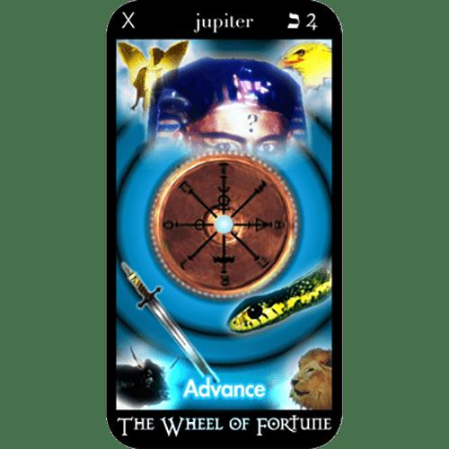 The Wheel of Fortune | Tarot Card Readers | O'Mara Tarot